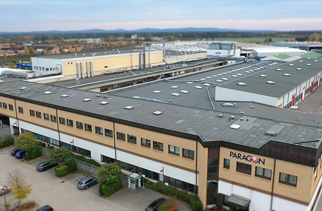 Paragon invests in the BlueCrest EPIC DM at its Schwandorf facility in Germany