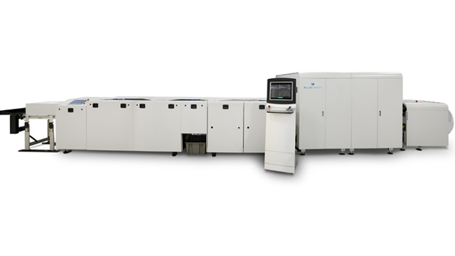 AcceleJet printing and finishing solution | BlueCrest Printers
